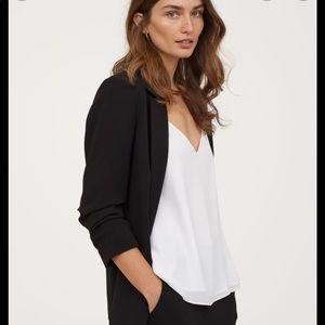 H&M Black Blazer, Sz. 2